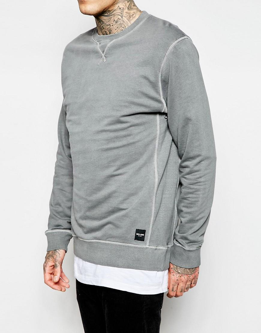 Only & Sons Washed Sweatshirt
